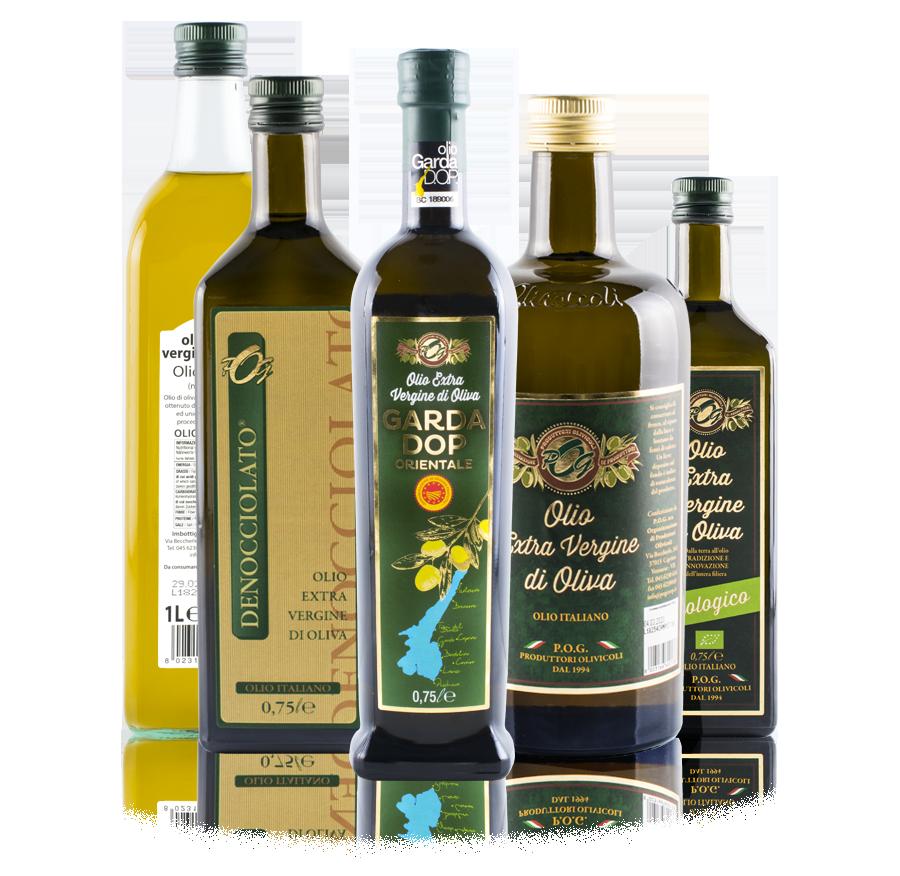 Olio P O G  | Produttori Olivicoli Gardesani - Frantorio per